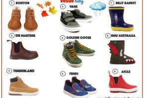 La mia selezione per i piedini dei nostri maschietti!